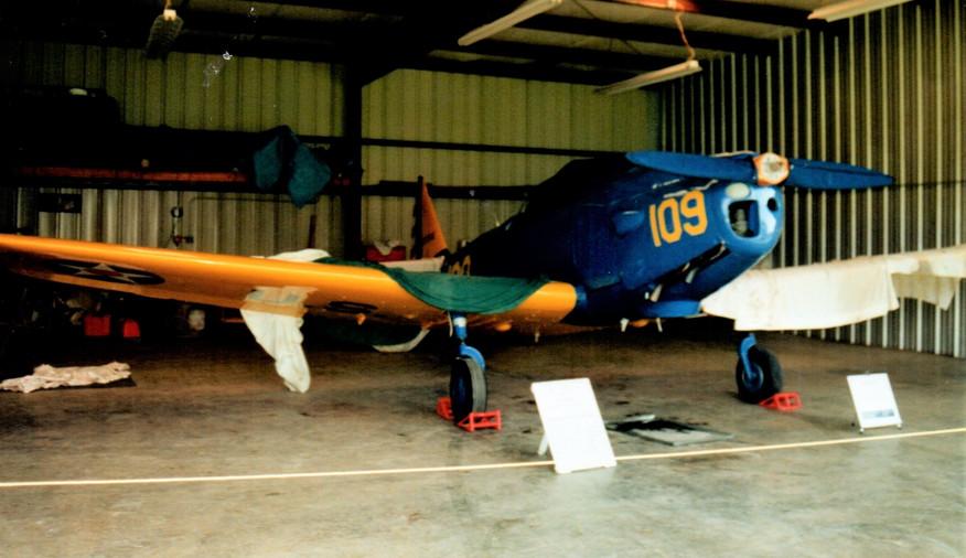 Antique airplane
