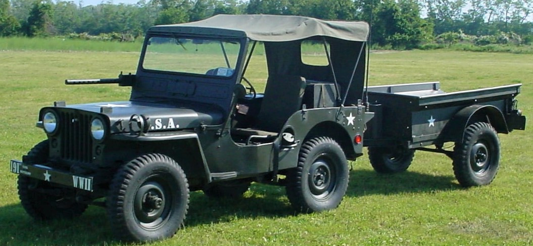 Jude Petroski's 1951 Willys M-38 Jeep & Military trailer