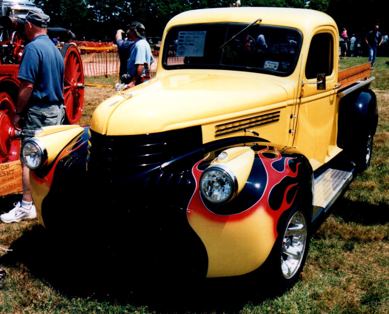 1946 Chevrolet pickup -Robert Ross