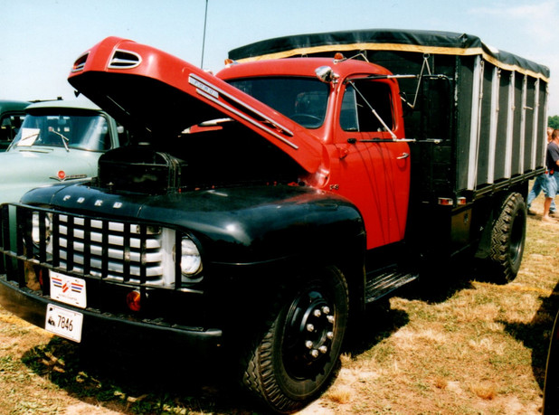 1950 Ford F-8 stake bed from Connecticut