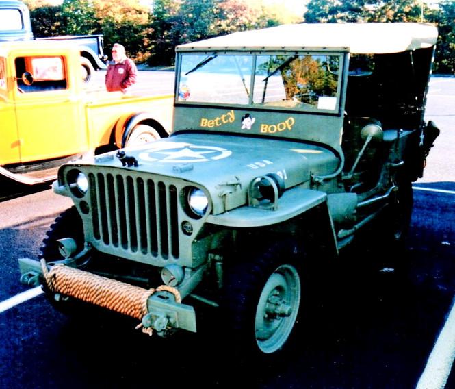 Lou Zackman's 1942 Jeep