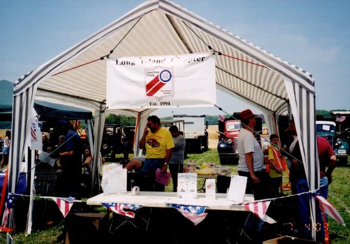 Chapter membership tent