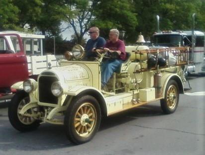Philip Huntington's 1923 Brockway fire engine