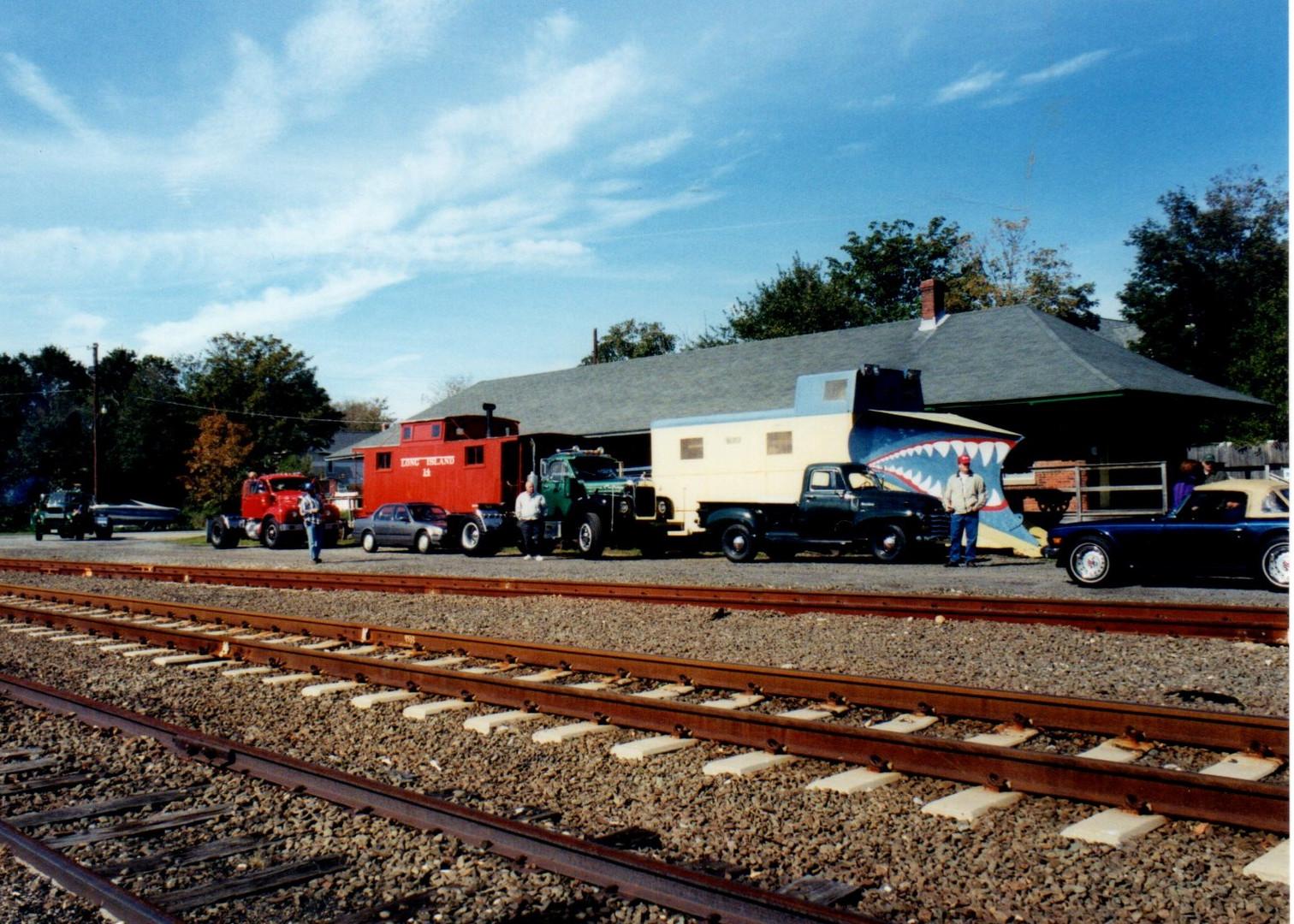 Final stop - Long Island Railroad Museun in Greenport