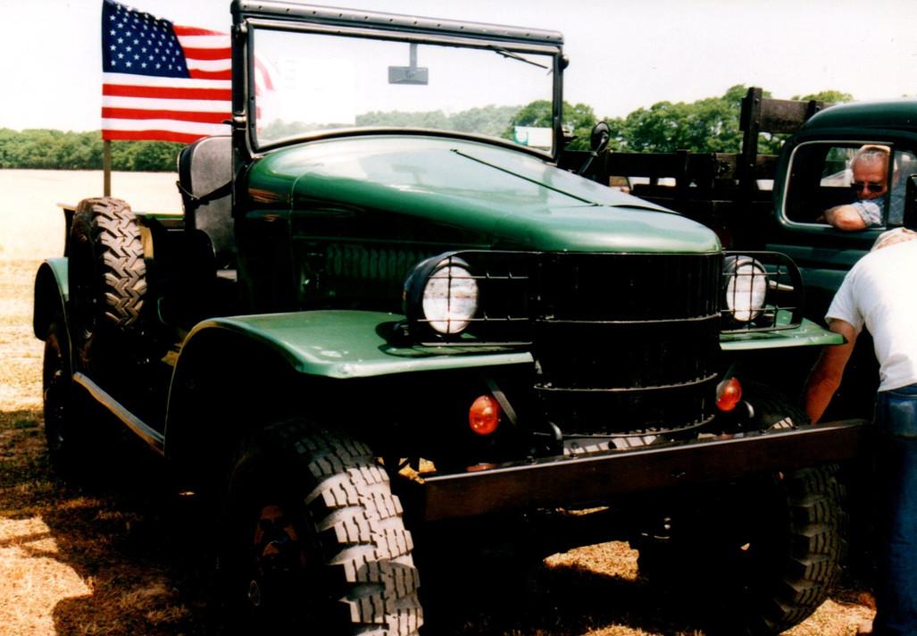 1942 Dodge WC-21 command car - Greg King