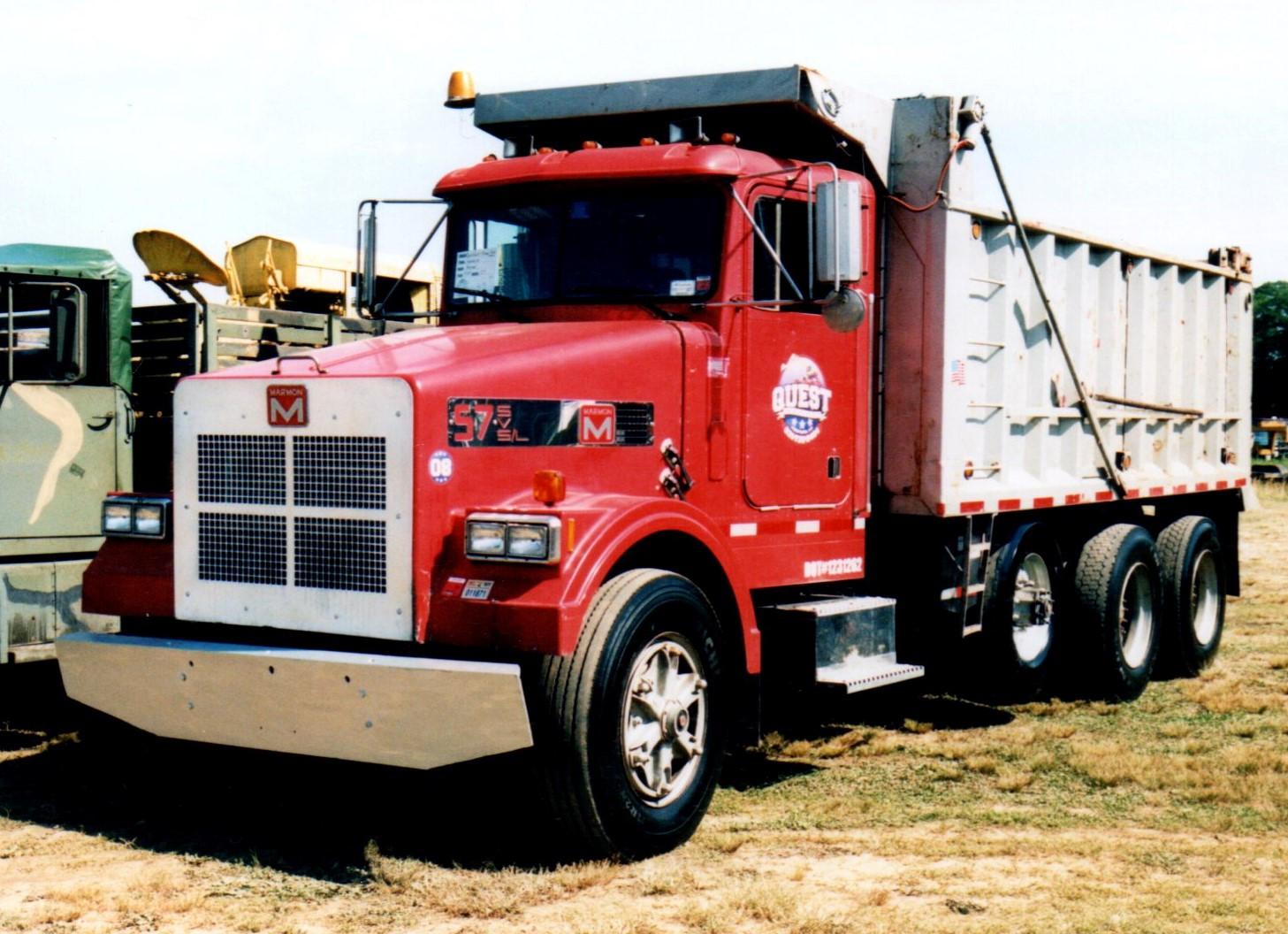 1988 Marmon model 57 dump - George Fiebe