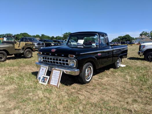 1965 Ford pickup - Brent Robedee