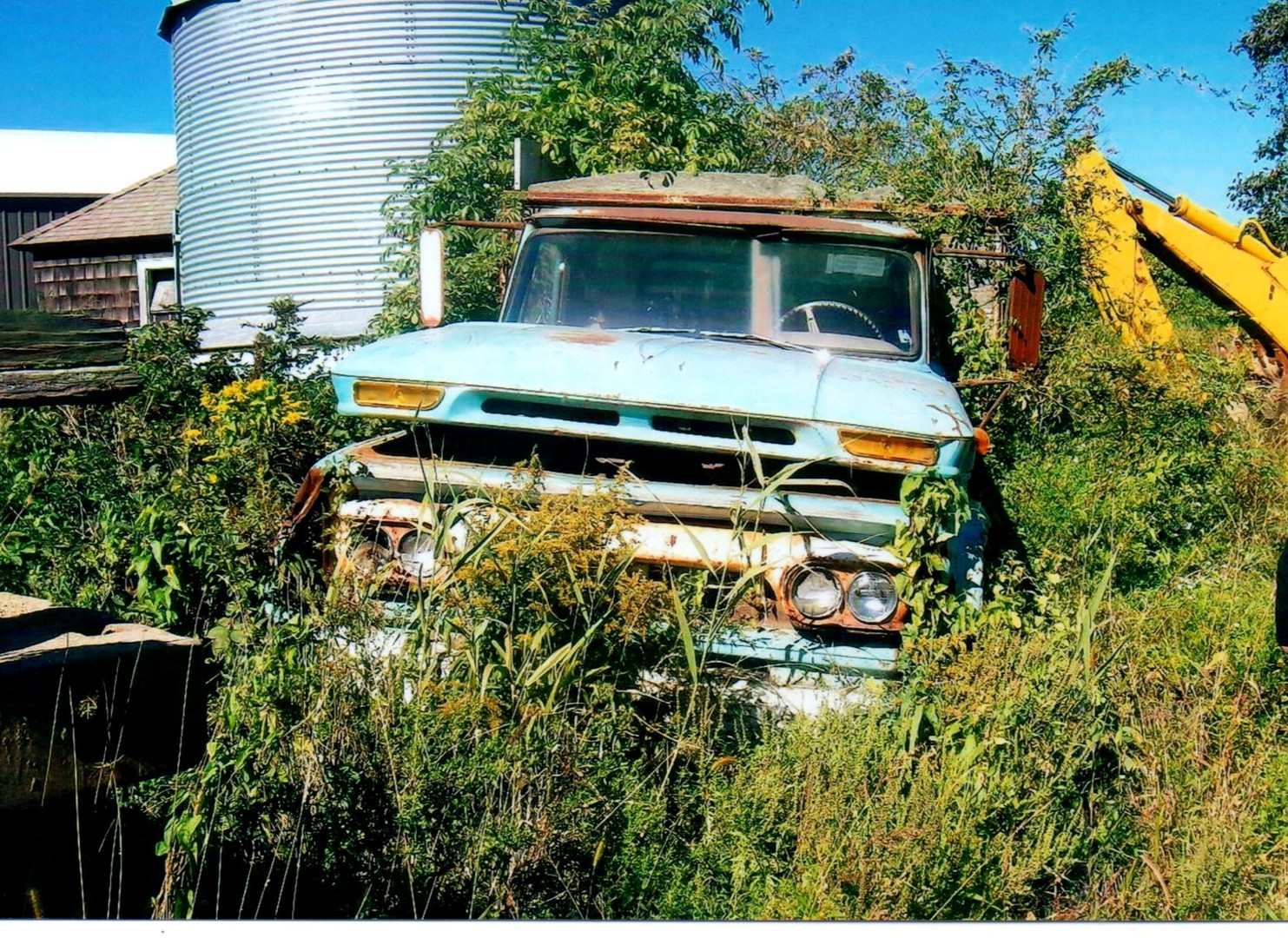 1963-66 GMC in the weeds