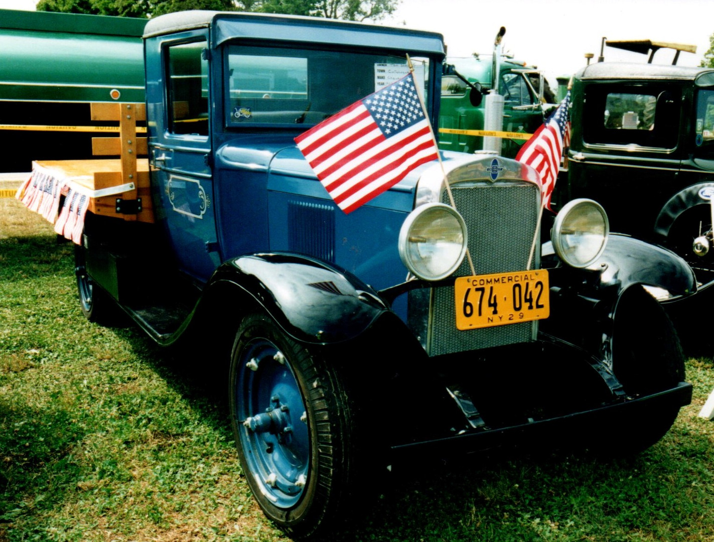 1929 Chevrolet model LQ  flatbed - Thomas Shalvey Jr.