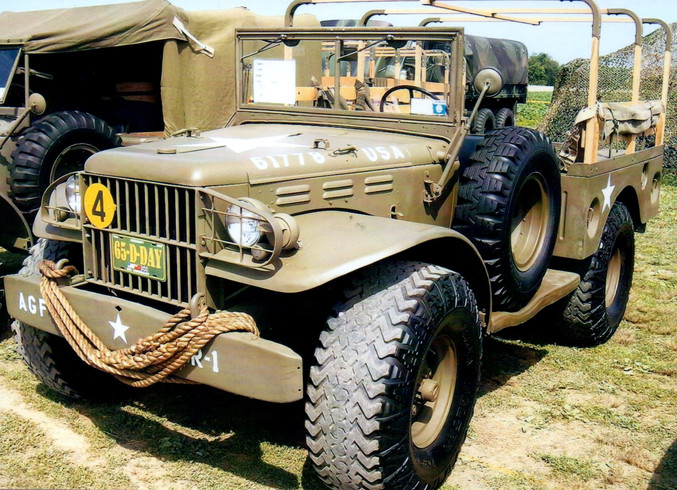1942 Dodge WC51 weapons carrier - Harry Miller