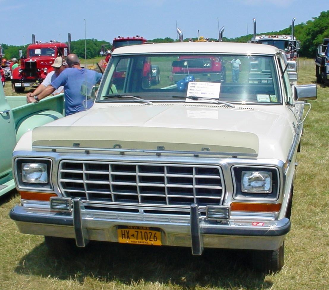 1978 Ford F-150 Ranger pickup