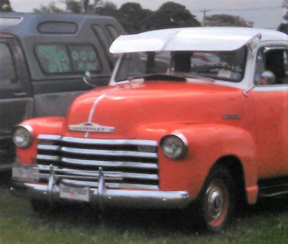 1950 Chevrolet pickup -Glenn Gray