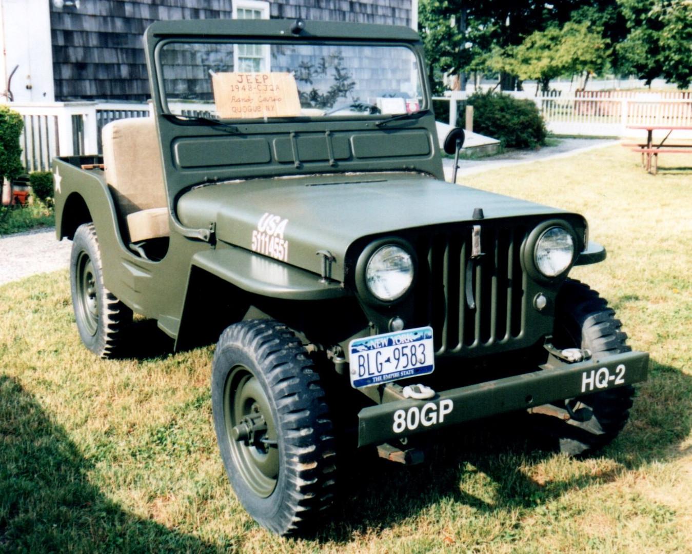 1948 Willys CJ2A Jeep