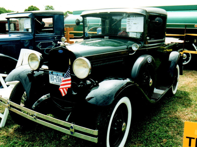 1931 Ford Model A pickup - Robert Hall