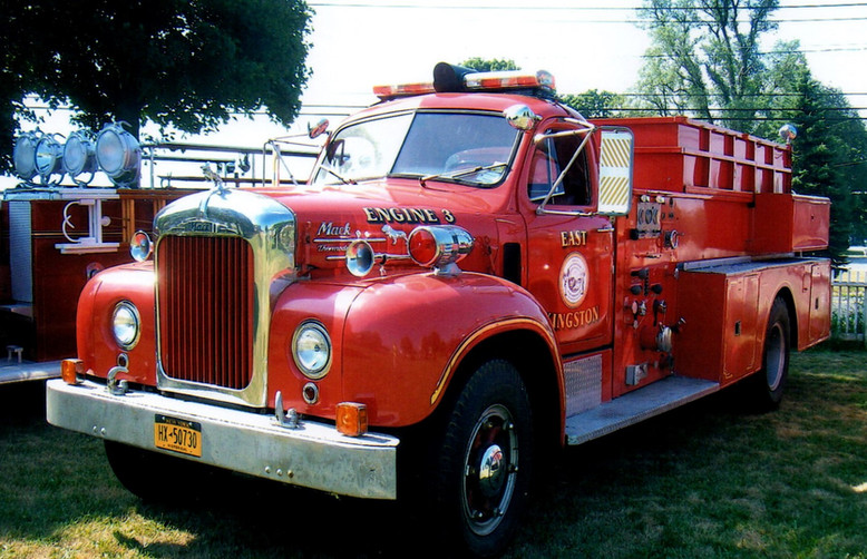1955 Mack B-85 pumper - privately owned