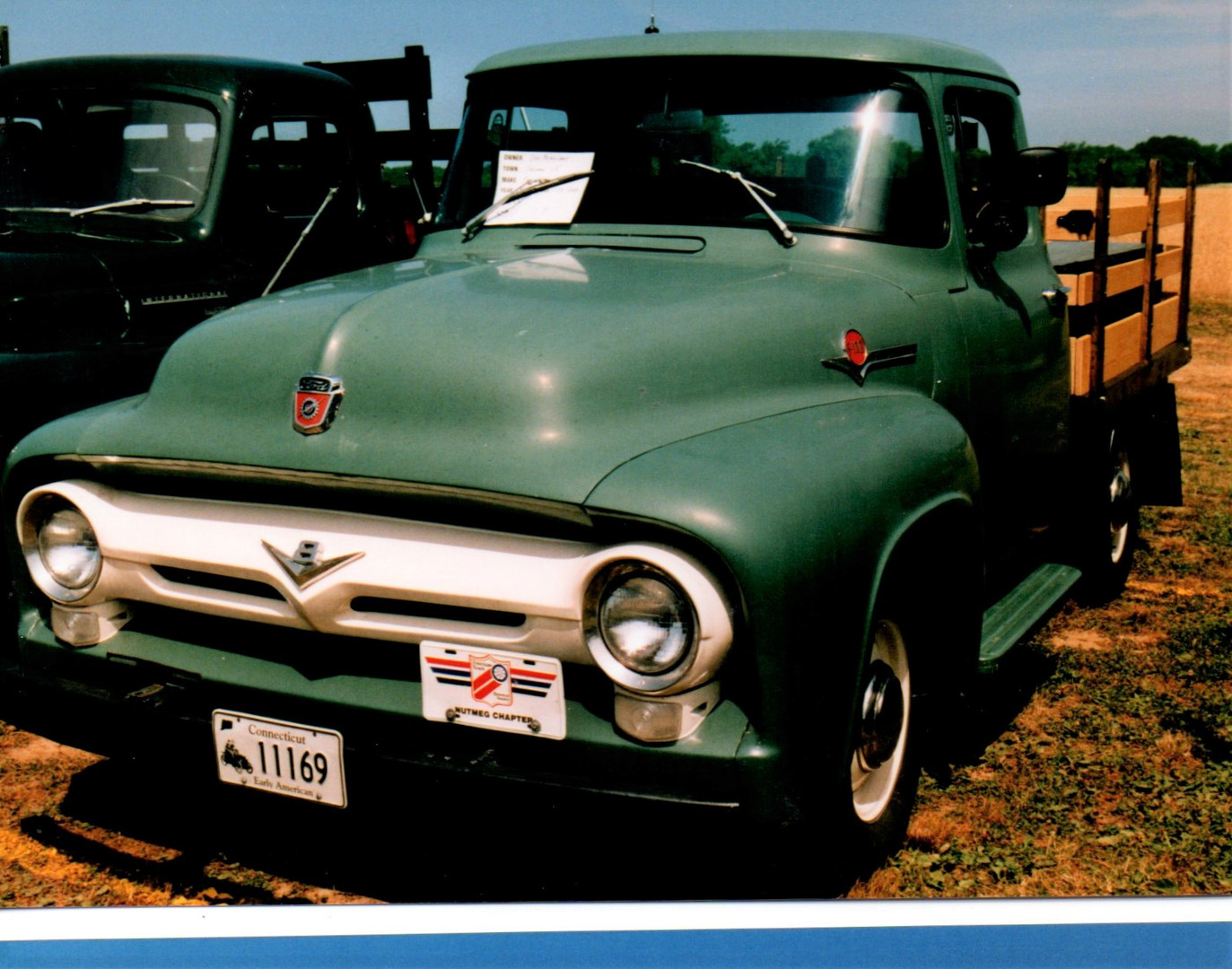 1956 Ford F-100 stake bed from Connecticut
