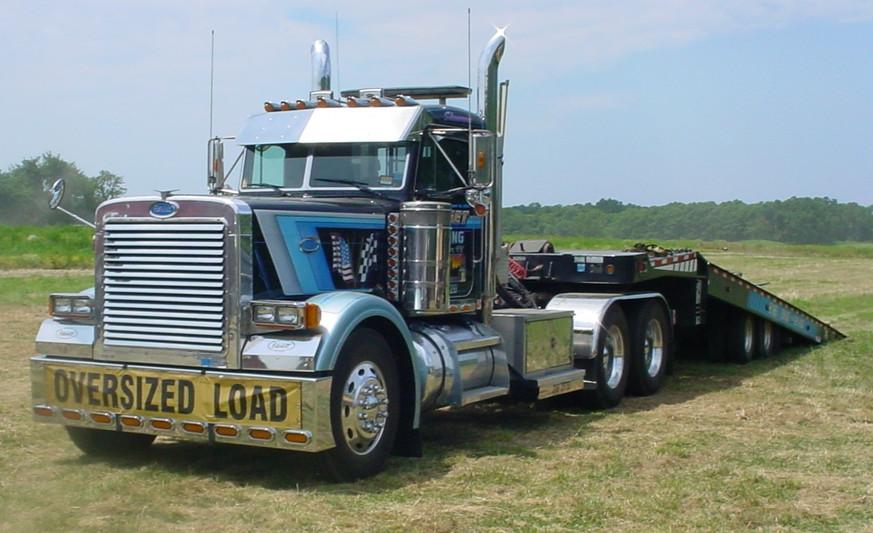 Barry Stanchio's 1997 Peterbilt tractor