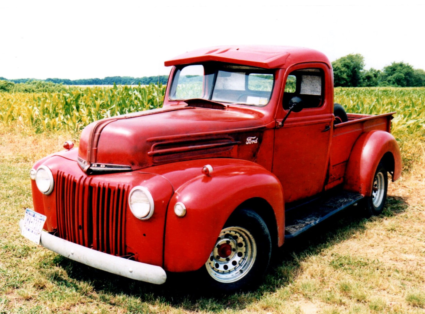 1946 Ford pickup - Bruce Young