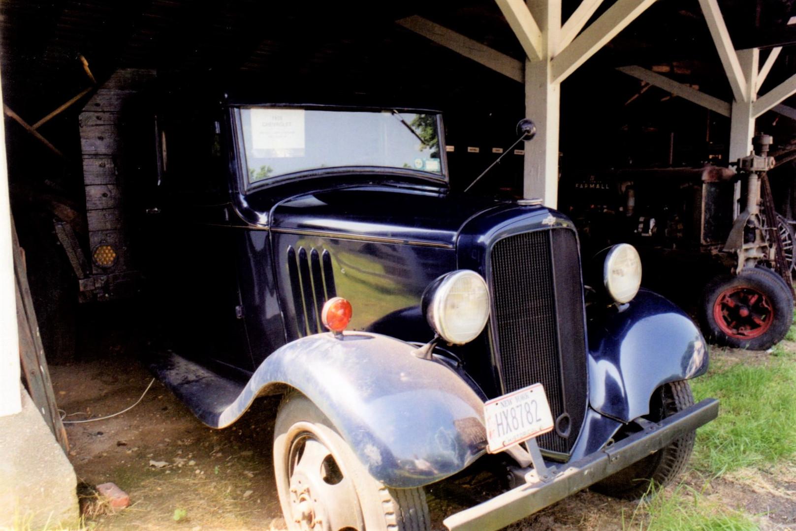 Ron Bush's 1935 Chevrolet flatbed
