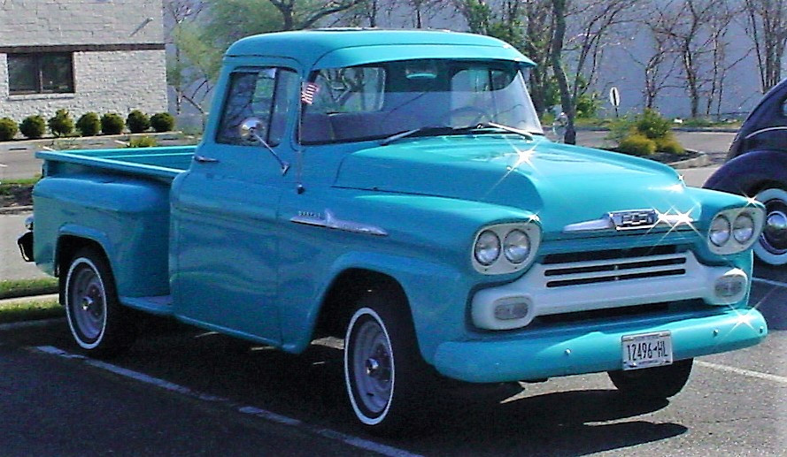 1958 Chevrolet 3100 Apache pickup - Paul Walsh
