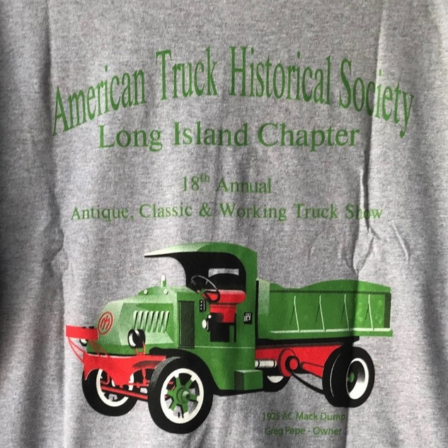 2019 Chapter Truck Show T-shirt (rear) Remaining Adult Sizes 2-Large & 8-X-Large - $5.00ea.