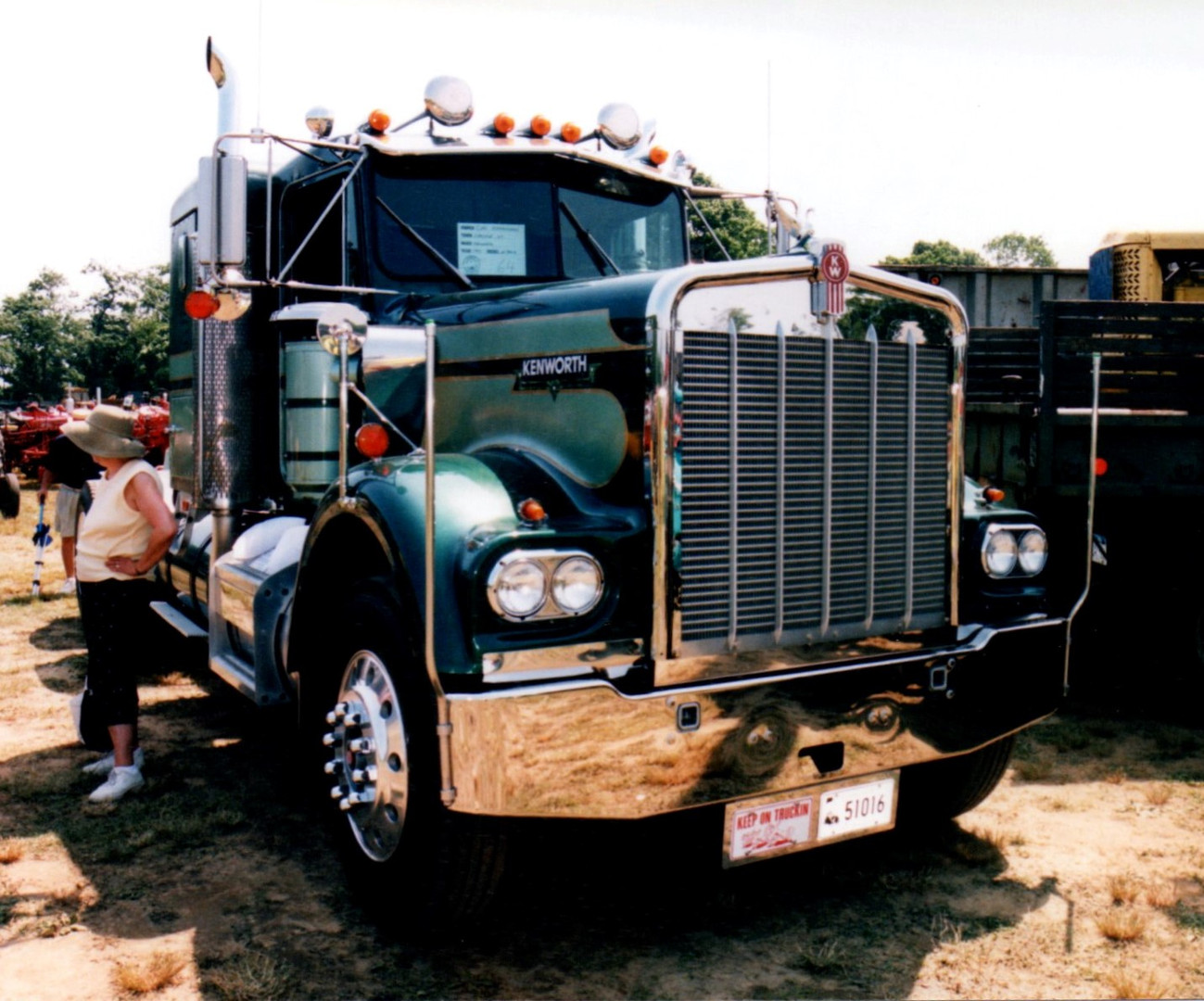 1977 Kenworth W-900A tractor from Connecticut