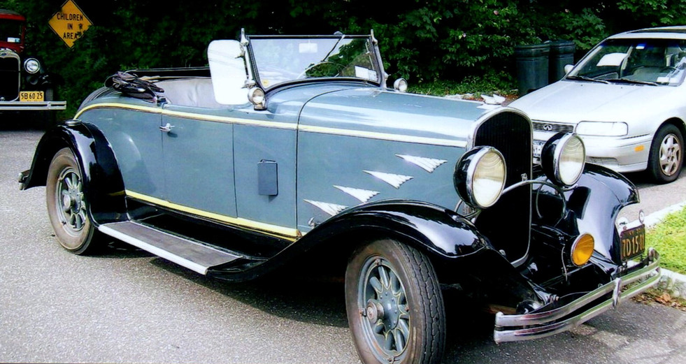 Arthur Gould's 1930 Chrysler 70 convertible