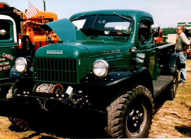 1958 Dodge W-300M Power Wagon pickup - Mark Wente