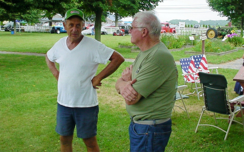 George Erb & Floyd Chivvis discussing the show