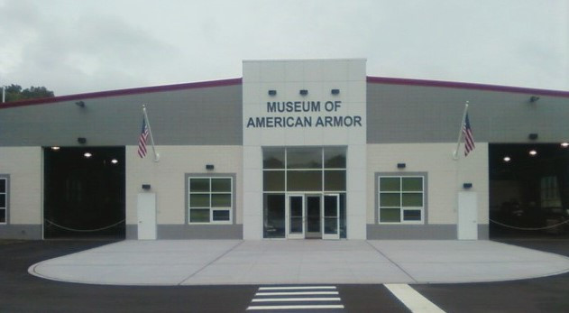 Final stop - Museum of American Armor