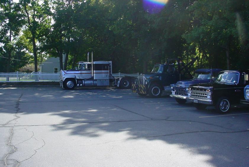 Member's Trucks at Museum