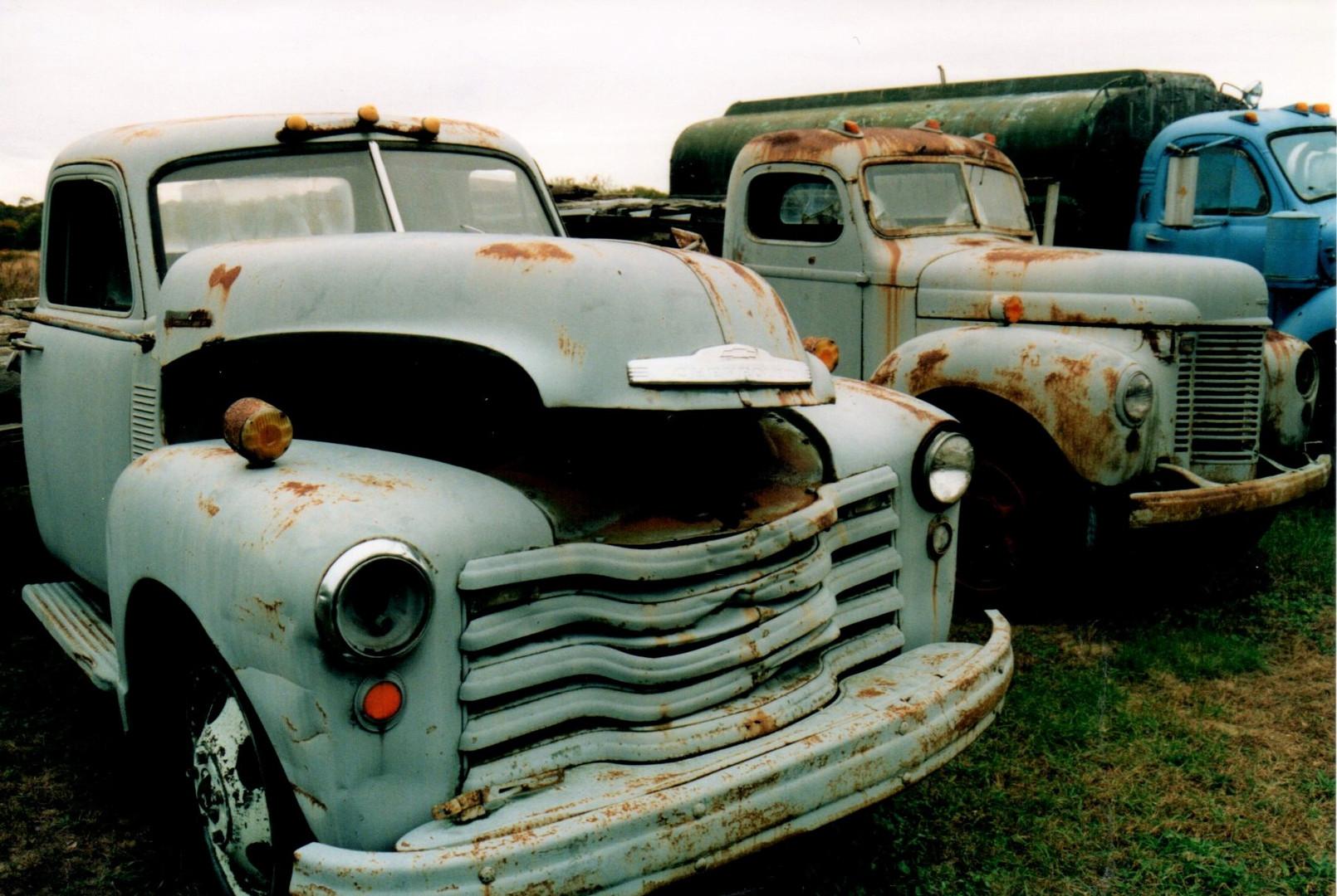 Ron Bush's collection of trucks