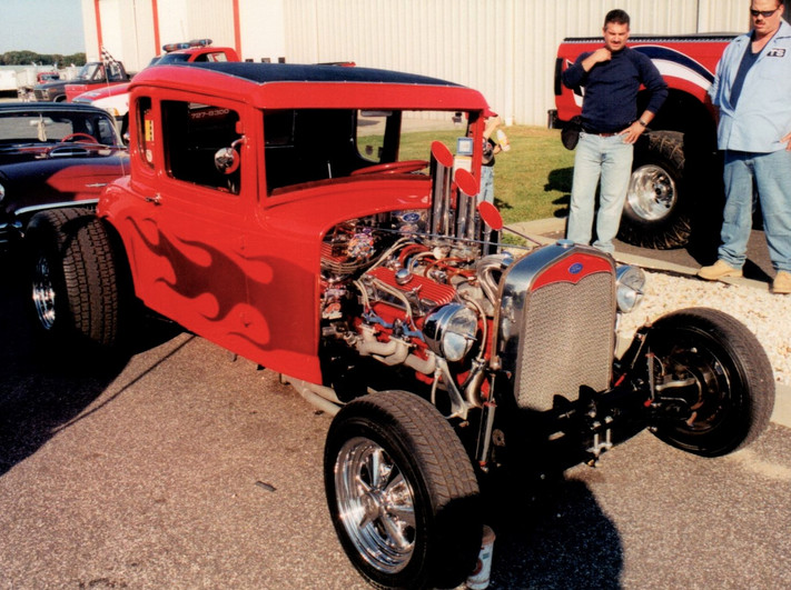Joe Peluso's 1930 Ford street rod