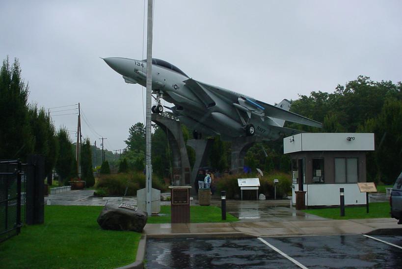 Grumman F-14A at Grumman Memorial Park