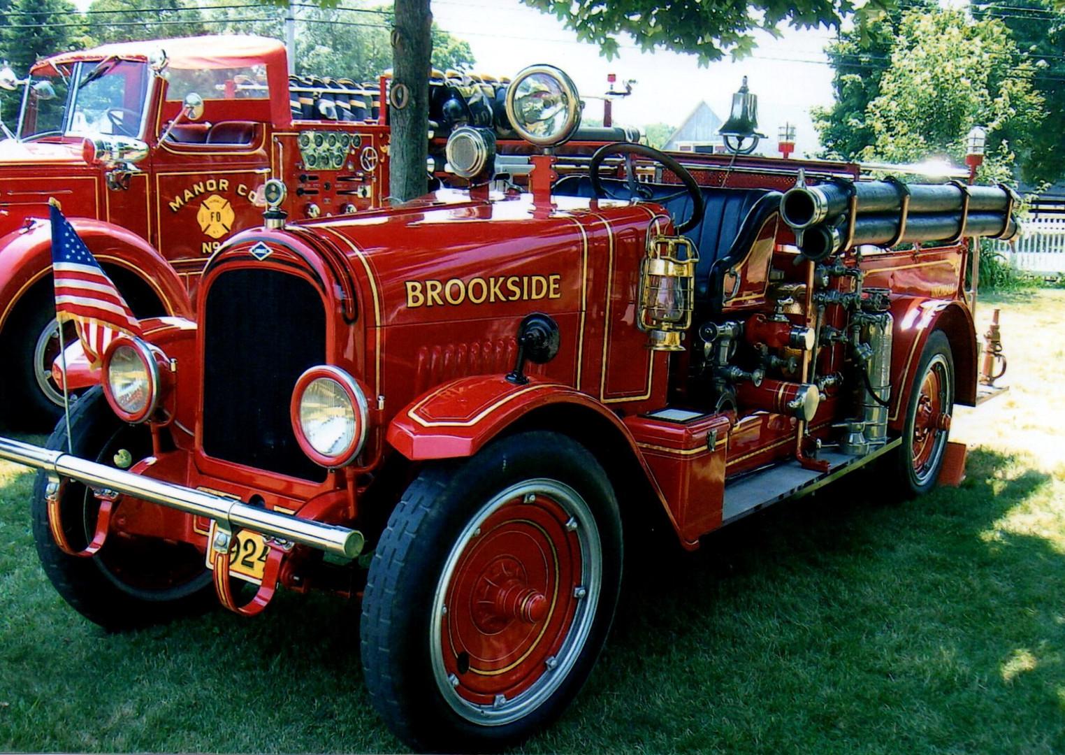 1924 Larabee pumper - Uniondale F.D.