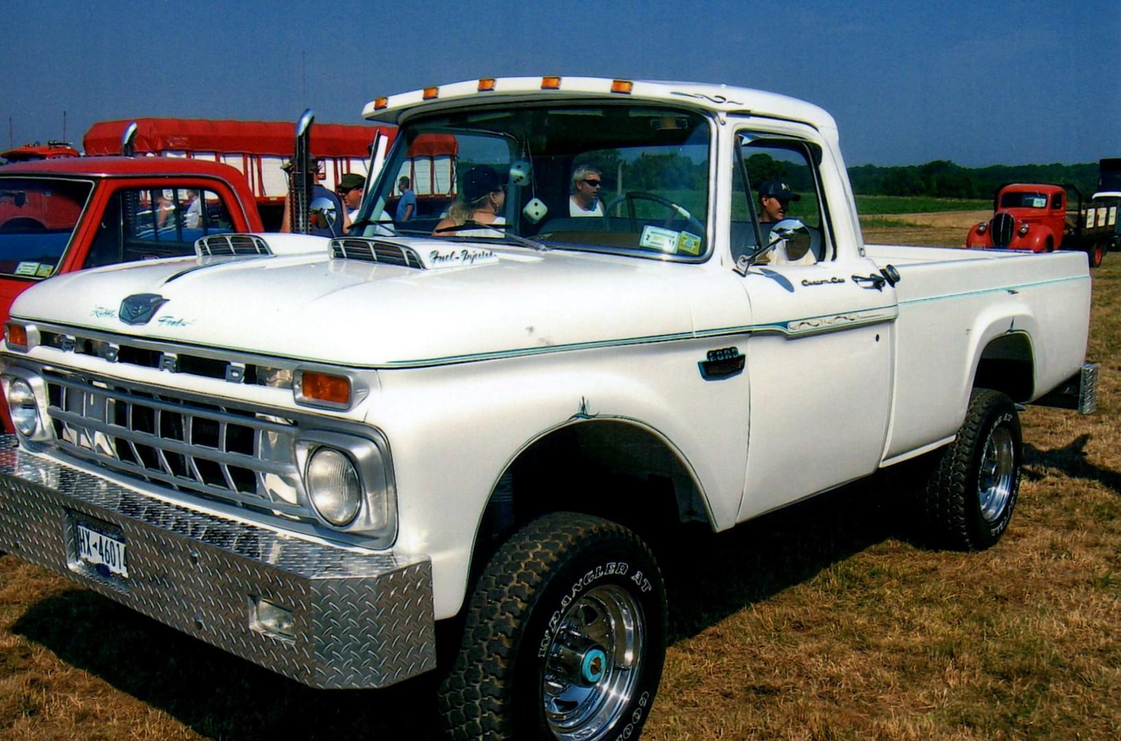 1965 Ford F250 pickup - Christopher Ketcham