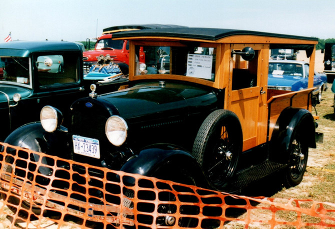 1929 Ford Model A Huckster - Bob Fraser