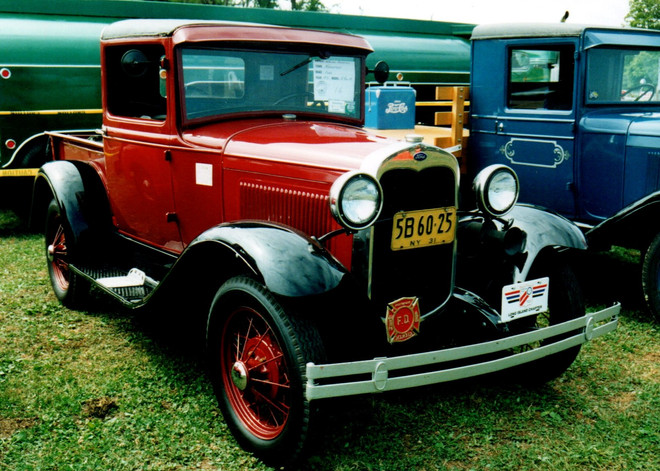 1931 Ford Model A pickup - Walter Blessing