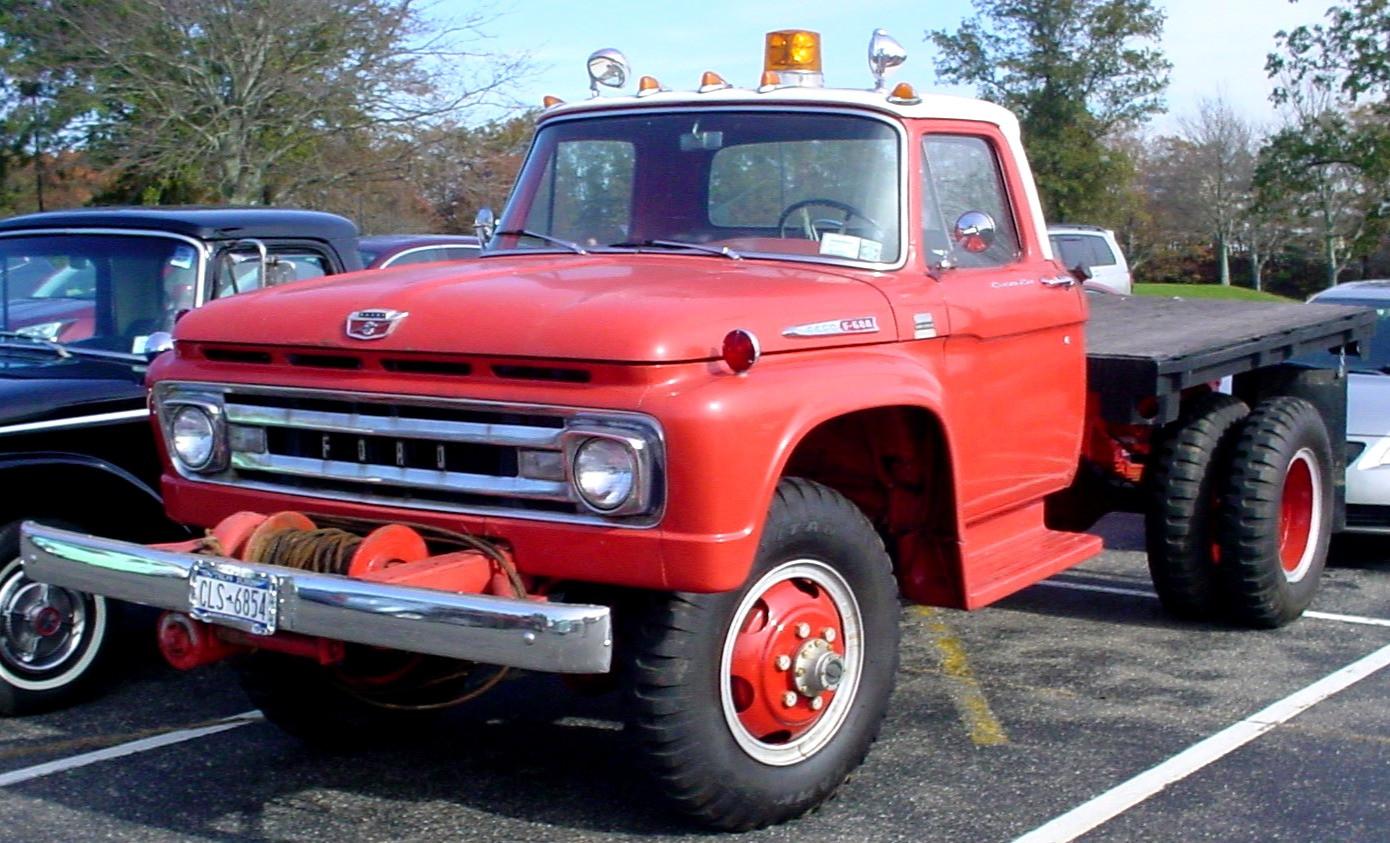 Craig Kenda's 1962 Ford flatbed