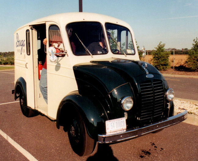 "Philip Kenter's 1954 ""Dugan's Divco  delivery"