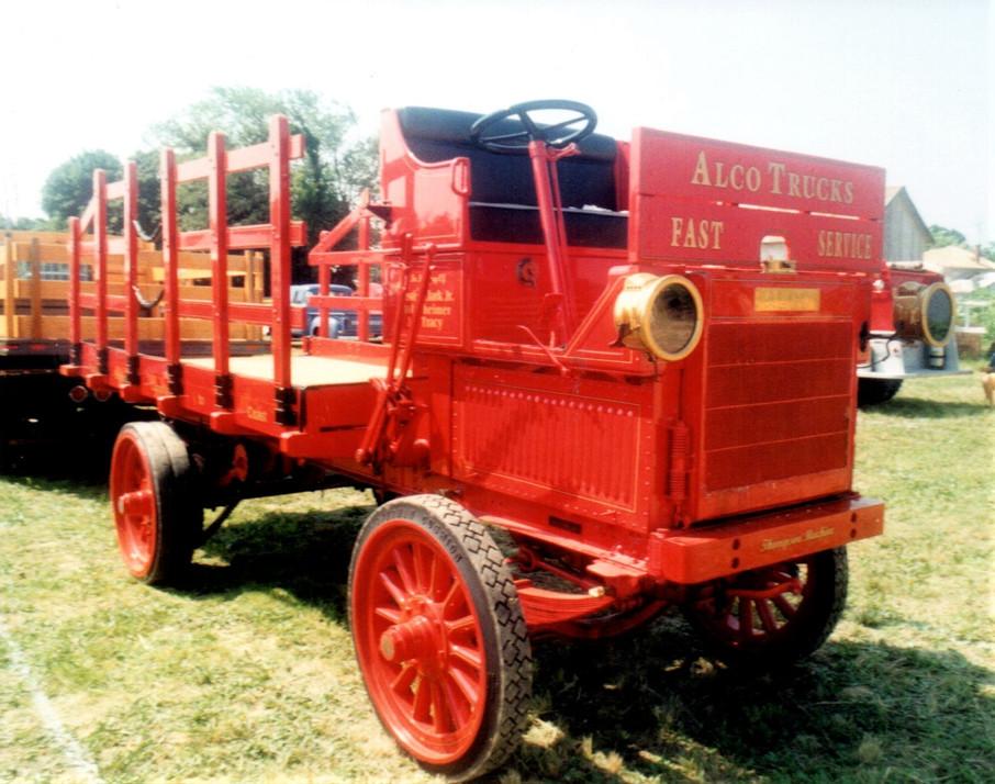 1912 Alco stake bed - Tony Guarnaschelli