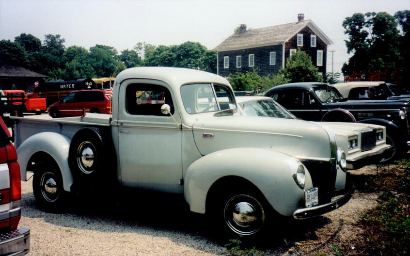 Robert Hall's 1941 Ford pickup