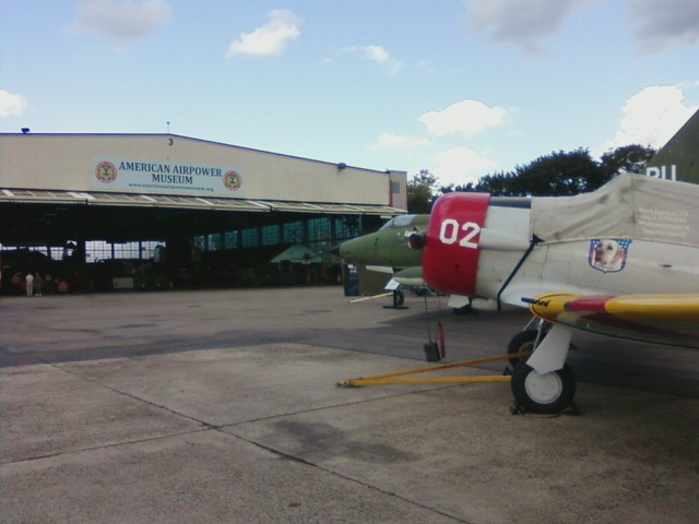 Second stop - the American Air Power Museum at Republic Airport in E. Farmingdale
