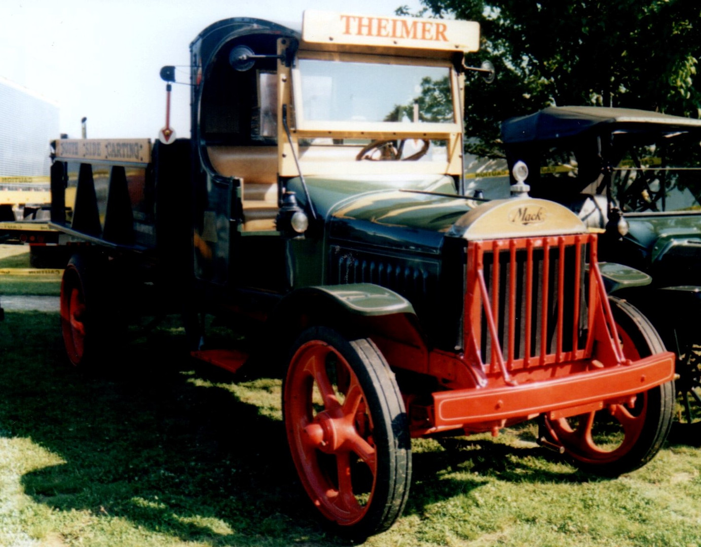 1925 Mack AB dump - Tony Guarnaschelli