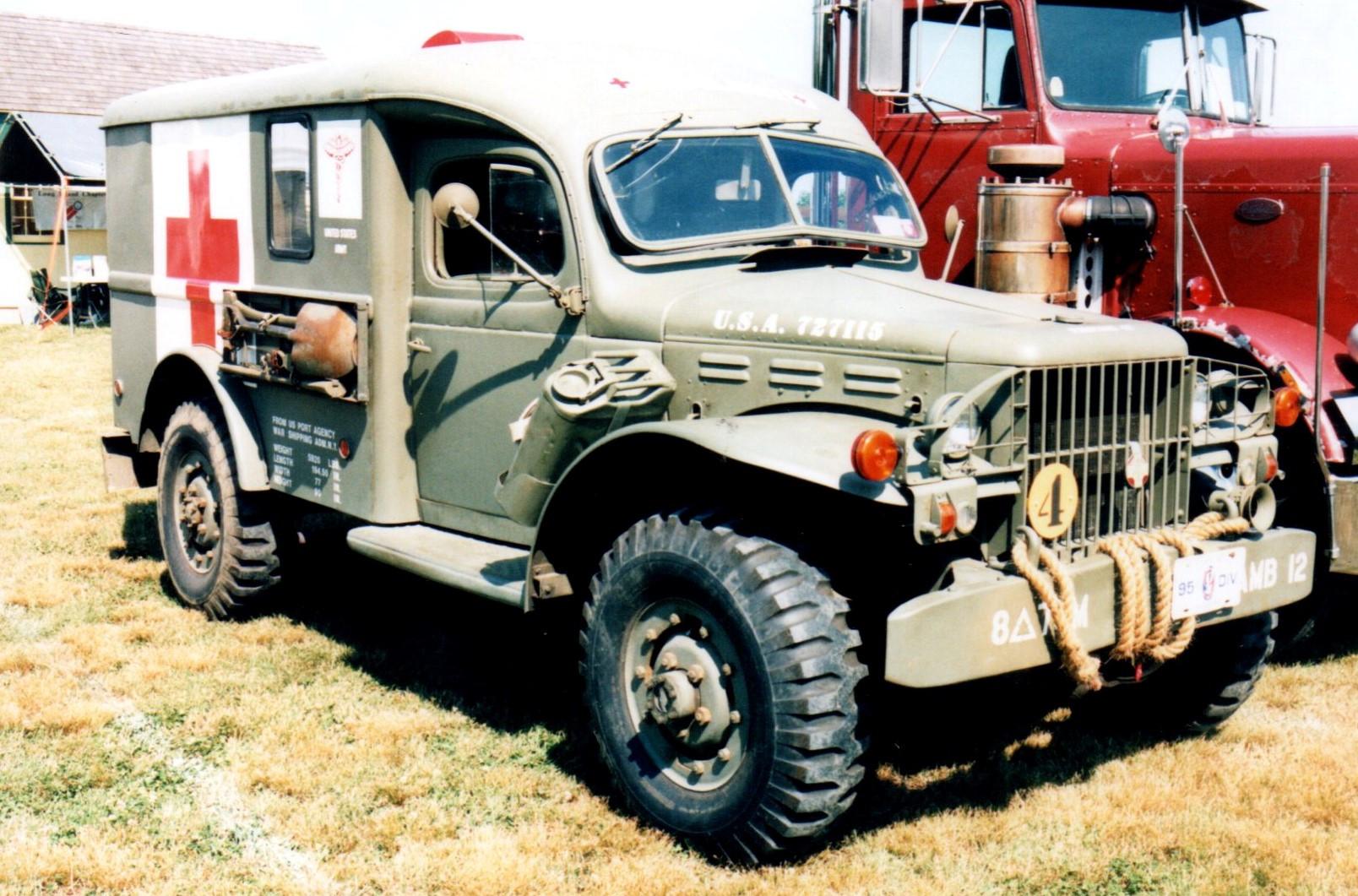1942 Dodge WC54 Ambulance - Dr. Gary Rosenbaum