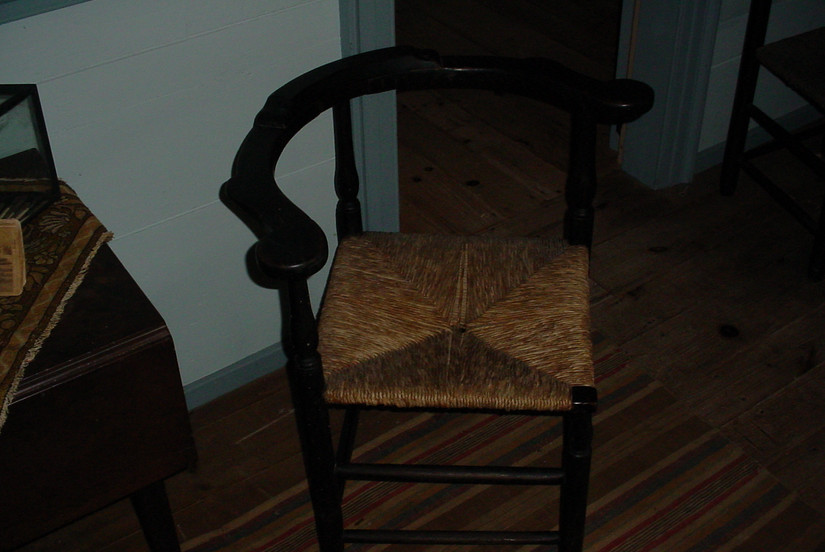 Antique furniture in the Old House