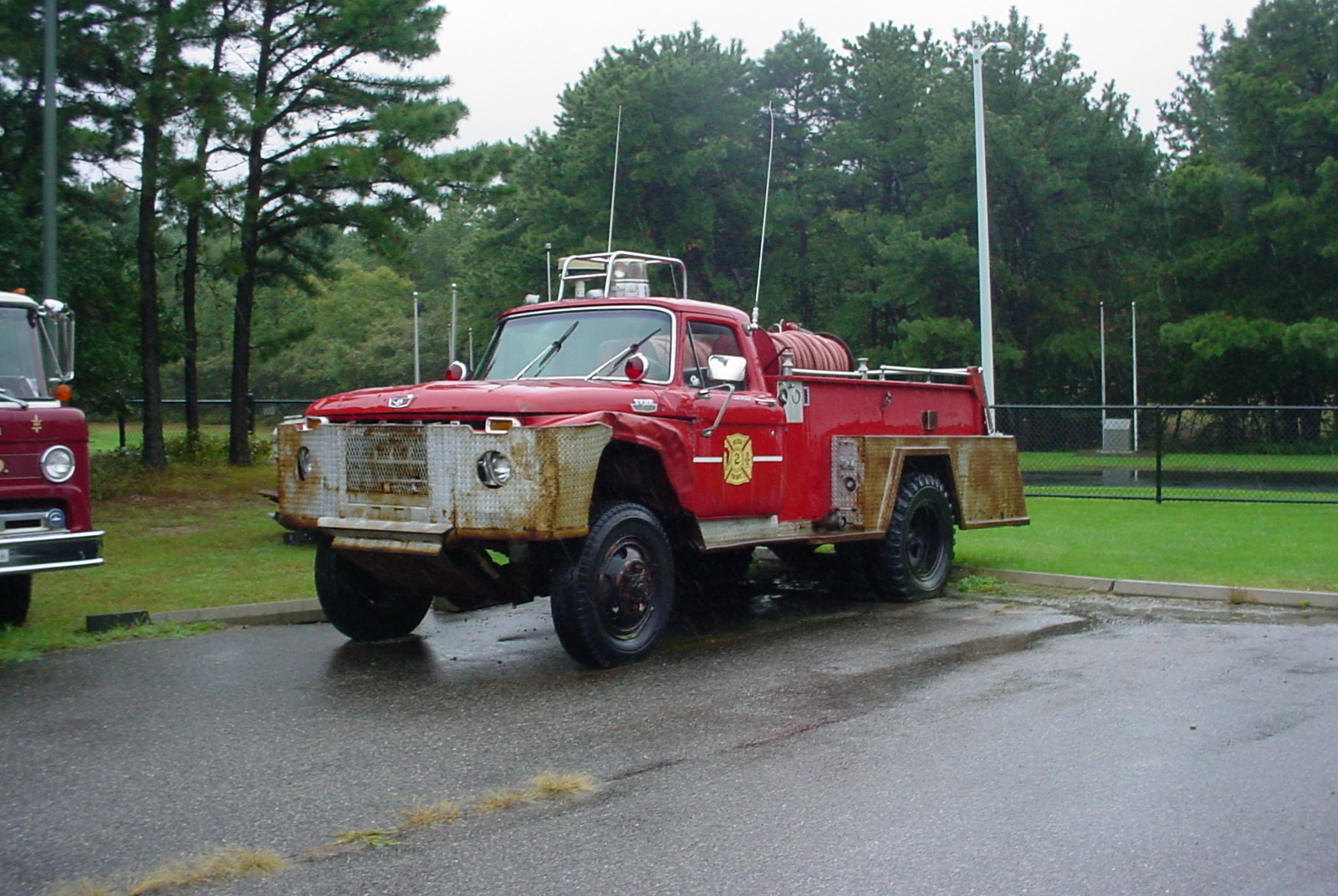 Former Gordon Heights F.D.  brush truck