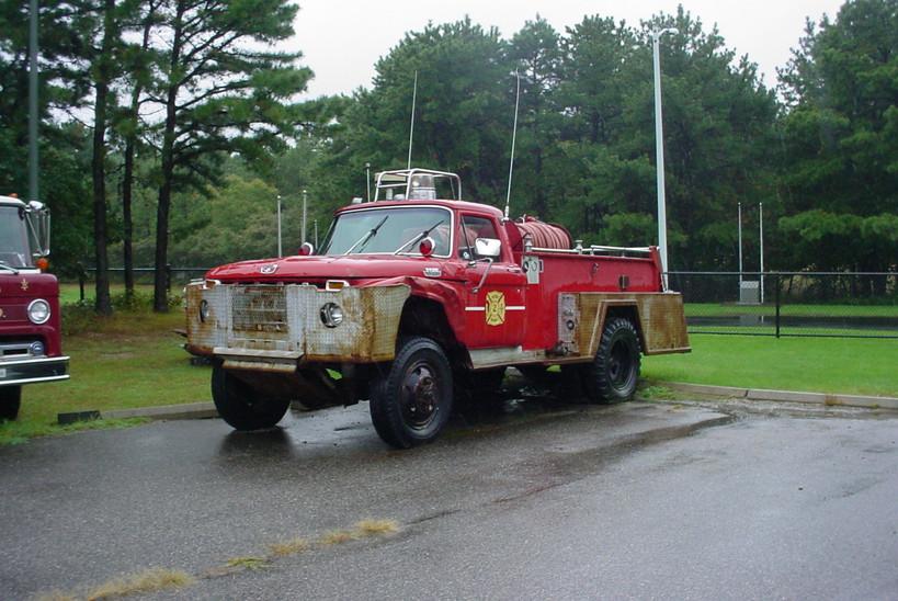 Former Gordon Heights F.D.  brush truck