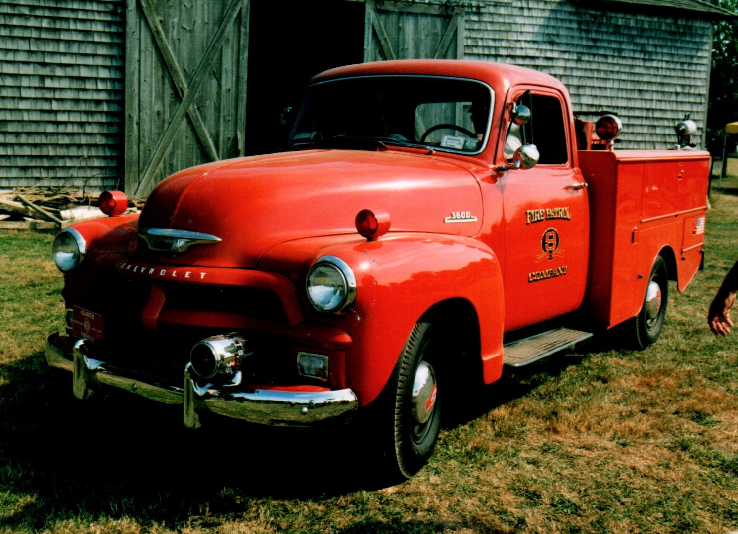1954 Chevrolet 3600 fire patrol - Philip Kenter