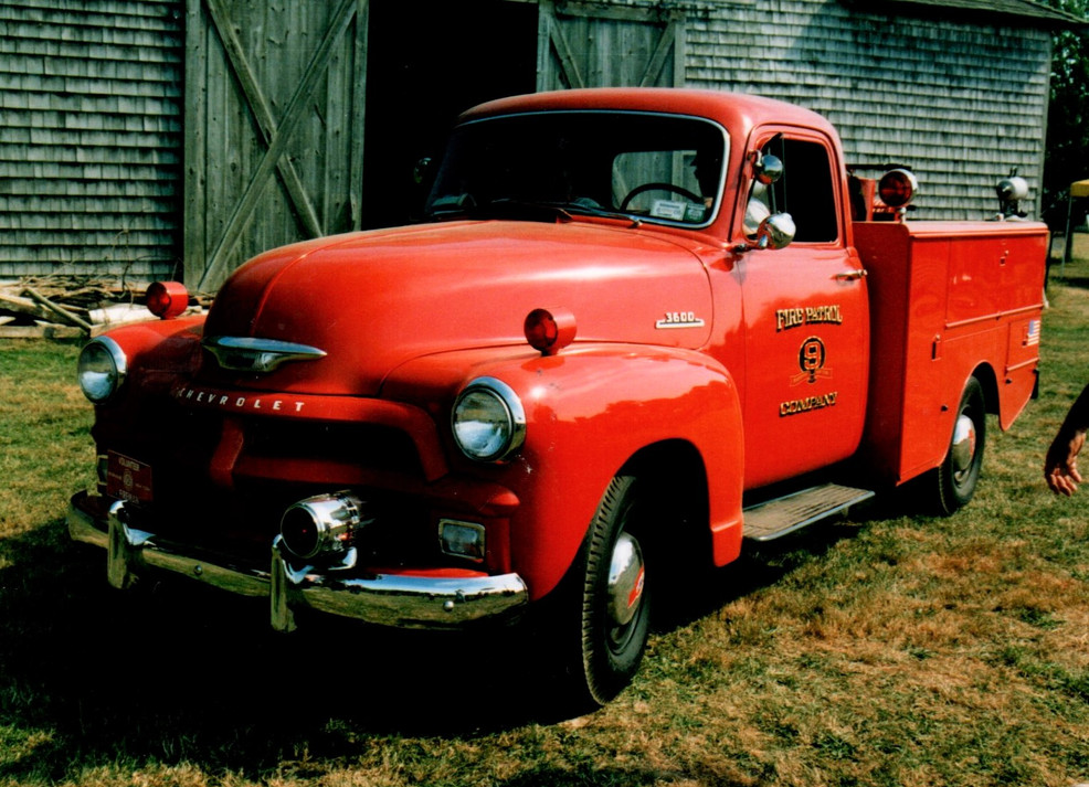 1954 Chevrolet 3600 fire patrol - Philip Kenter